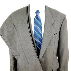 Other - Tom James 44 R 2 Button Beige Wool 2 Piece Suit